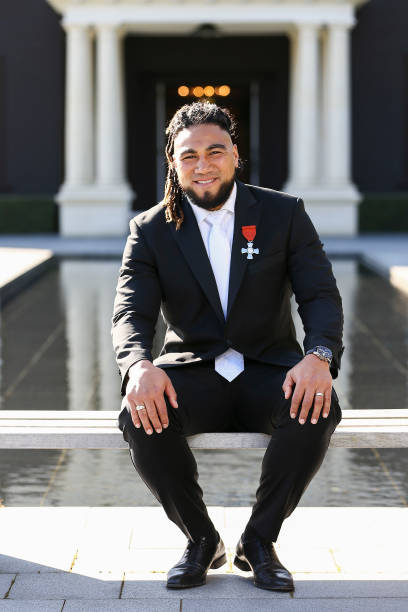NZL: Ma'a Nonu Honoured At Investiture Ceremony