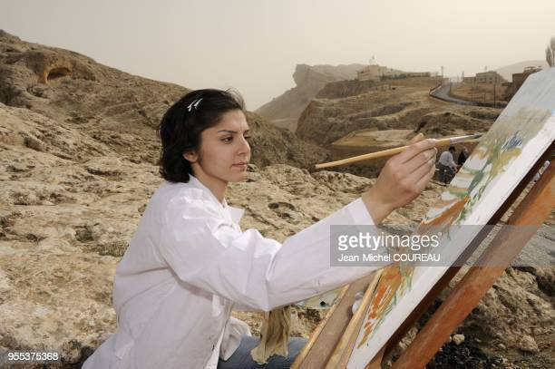 Maaloula is situated in Djebel Qalamoun which is a part of the chain of AntiLiban in 56 km from Damascus There are two important monasteries in...