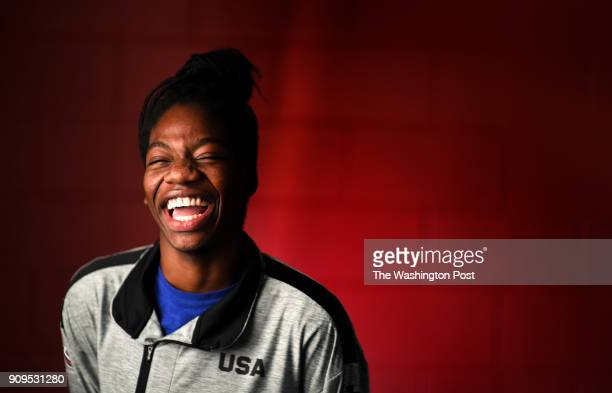 Maame Biney 17year old short track speed skater from Reston has qualified for the Olympics She's originally from Ghana which makes her an unusual fit...