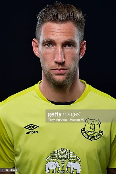 Maarten Stekelenburg poses for a photo at Finch Farm on October 20 2016 in Halewood England