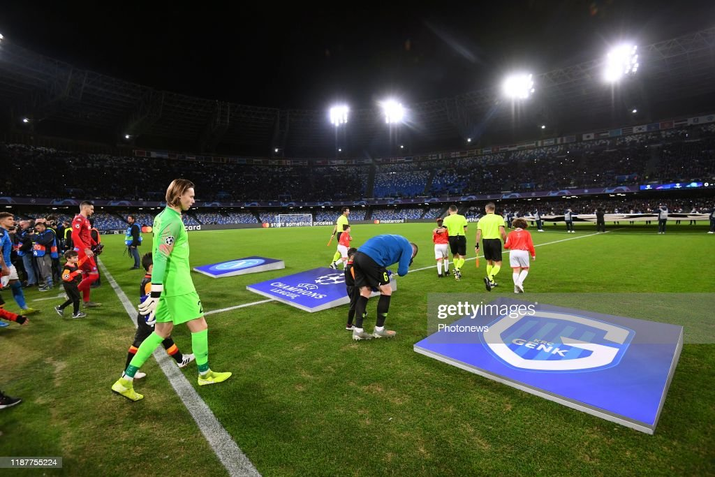 SSC Napoli v KRC Genk - UEFA Champions League : News Photo