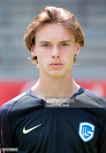 Maarten Vandevoordt pictured during the 2018 2019 season photo shoot of Krc Genk on July 11 2018 in Genk Belgium