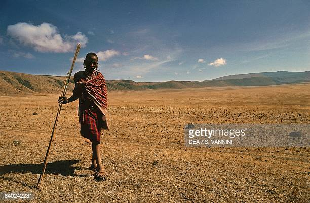 Maasai boy, Ngorongoro Conservation Area, Tanzania.