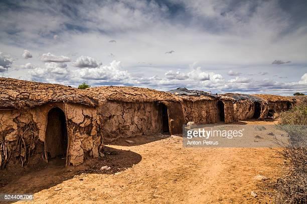 Maasai village, near Amboseli National Park