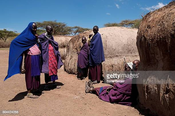 CONTENT] Maasai women in the Ngorongoro Conservation Area in the Crater Highlands area of Tanzania Eastern Africa