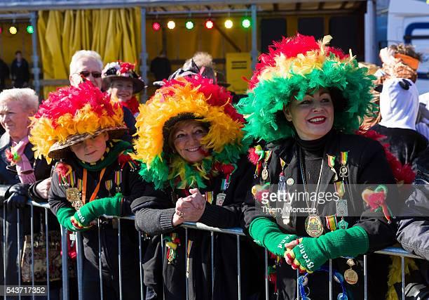 Maastricht, Limburg, Netherlands, February 15, 2015. — People enjoy the carnival in Maastricht.