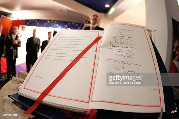 A paper version of the Maastricht Treaty is stored 06 February 2007 almost 15 years after its signing in a bank vault in the southern Dutch town The...