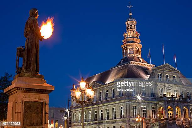 maastricht, netherlands - town hall stock pictures, royalty-free photos & images