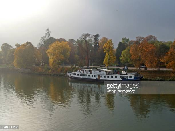 maastricht, netherlands - meuse river stock photos and pictures