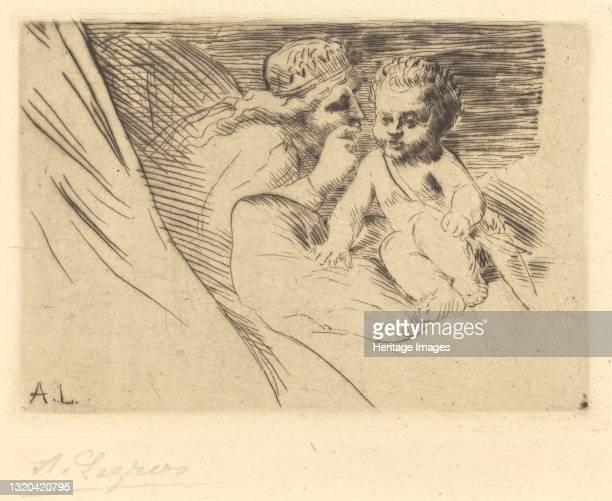 Mab and Cupid . Artist Alphonse Legros.