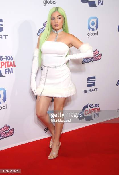 Mabel attends Capital's Jingle Bell Ball 2019 at The O2 Arena on December 08, 2019 in London, England.