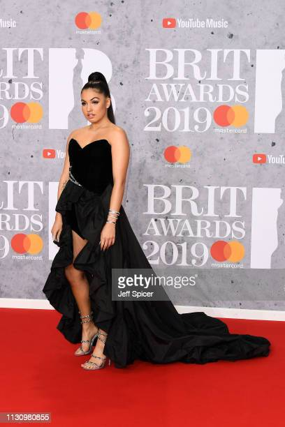 Mabel attends The BRIT Awards 2019 held at The O2 Arena on February 20 2019 in London England