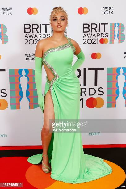 Mabel attends The BRIT Awards 2021 at The O2 Arena on May 11, 2021 in London, England.