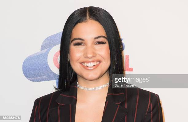 Mabel attends the Capital FM Jingle Bell Ball with CocaCola at The O2 Arena on December 10 2017 in London England