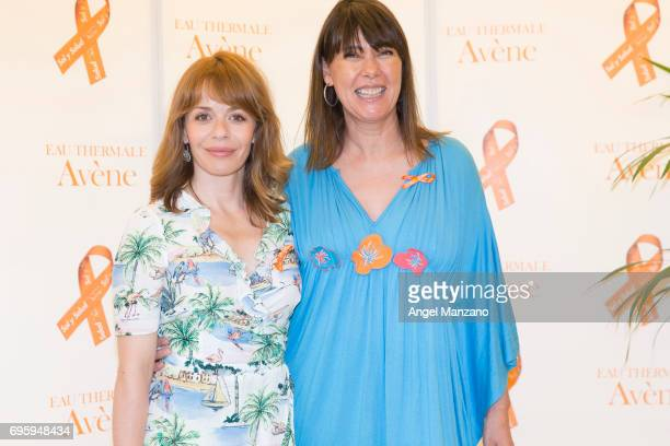 Mabel Lozano and Maria Adanez attend Skin Cancer Prevention European Day campaign by Avene on June 13 2017 in Madrid Spain
