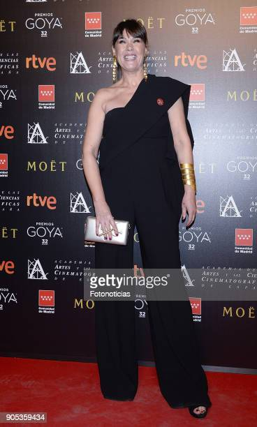 Mabel Lozano attends the 32nd Goya Awards Candidates Meeting at the Real Casa de Correos on January 15 2018 in Madrid Spain