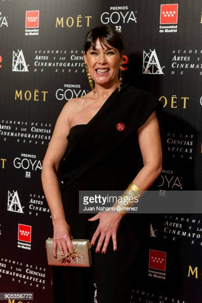 Mabel Lozano attends the Goya cinema awards candidates 2018 meeting at Casa de Correos on January 15 2018 in Madrid Spain