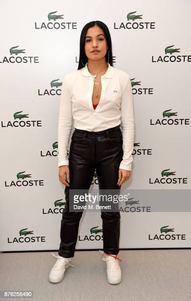 Mabel McVey attends Lacoste VIP Lounge at the 2017 ATP World Tour Tennis Finals on November 19 2017 in London United Kingdom