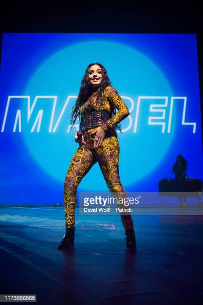 Mabel opens for Khalid at L'Olympia on October 4 2019 in Paris France