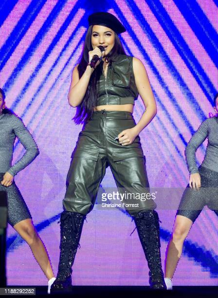 Mabel performs at Hits Radio Live 2019 at Manchester Arena on November 17 2019 in Manchester England