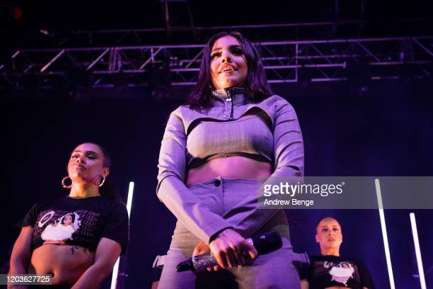 Mabel performs at O2 Academy Leeds on February 02, 2020 in Leeds, England.