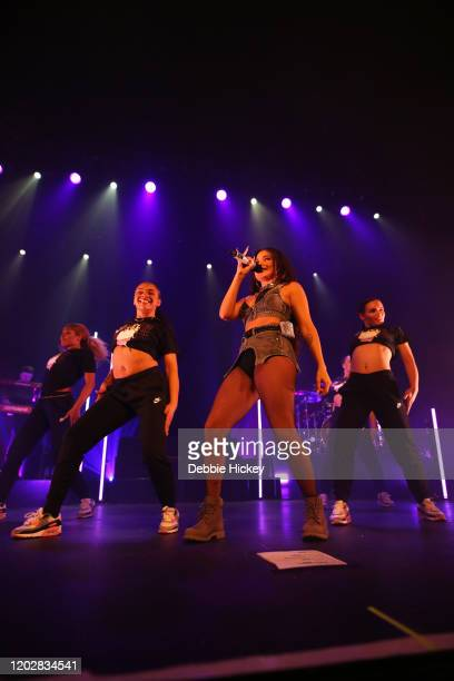 Mabel performs at Olympia Theatre at the debut of her High Expectations Tour on January 29 2020 in Dublin Ireland