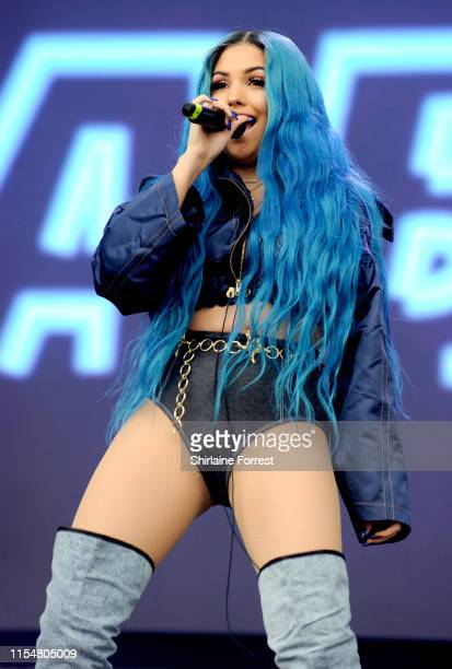 Mabel performs at the Parklife festival at Heaton Park on June 09 2019 in Manchester England