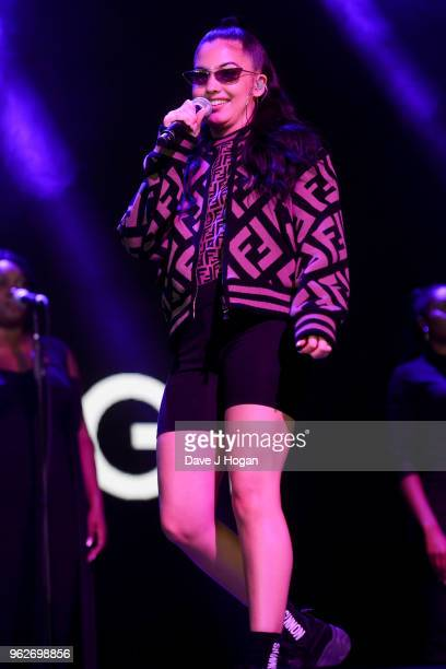 Mabel performs during day 1 of BBC Radio 1's Biggest Weekend 2018 held at Singleton Park on May 26 2018 in Swansea Wales