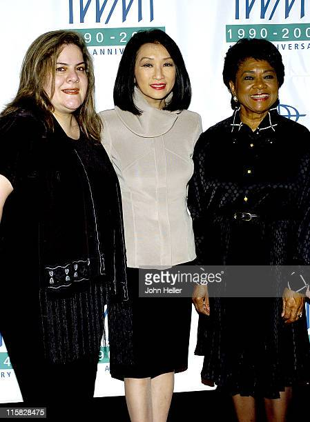 Mabel Rehnfeldt Connie Chung and Belva Davis during The International Women's Media Foundation Courage In Journalism Awards at The Regent Beverly...