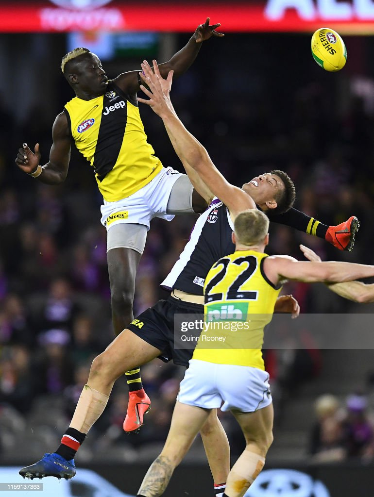 AFL Rd 15 - St Kilda v Richmond : News Photo