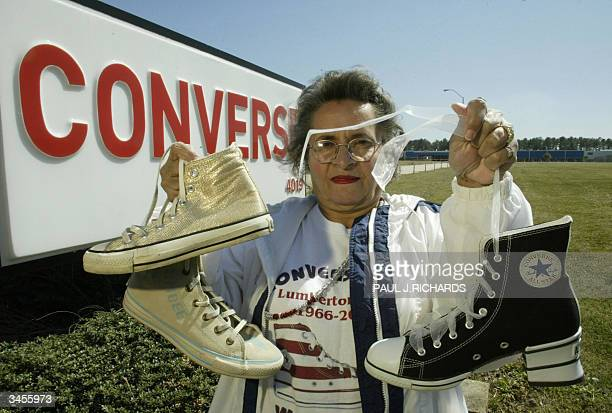0addf15d681 Mable Moses who loved working at Converse tennis shoes so much she  collected over 800 pairs