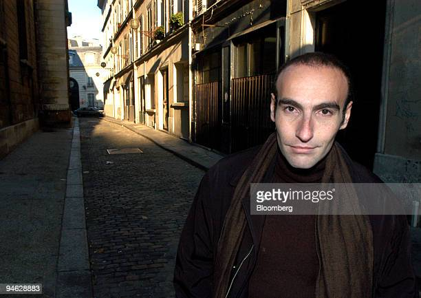 Mabrouck Rachedi a French secondgeneration immigrant novelist and author of Le Poids d'une Ame or The Weight of Soul poses in Paris France Friday...