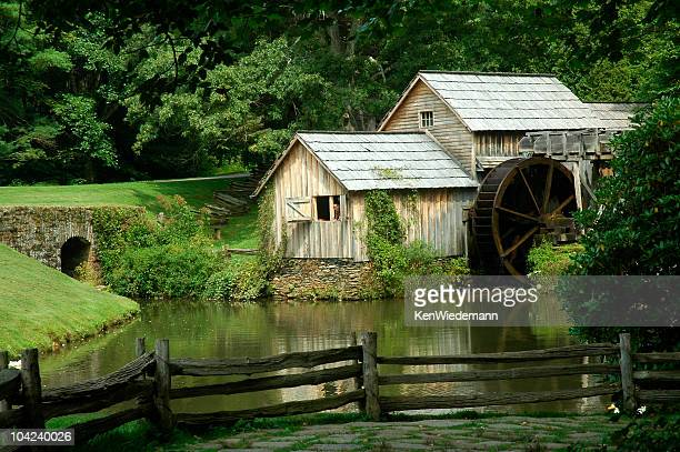 mabry mill - blue ridge parkway stock pictures, royalty-free photos & images