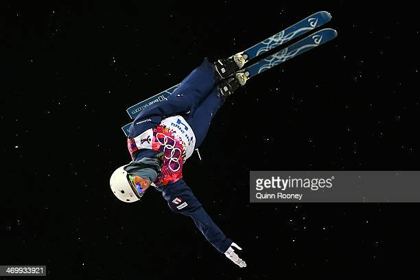 Mac Bohonnon of the United States competes in the Freestyle Skiing Men's Aerials Finals on day ten of the 2014 Winter Olympics at Rosa Khutor Extreme...