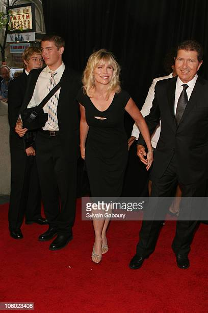 Mac Davis and family during The Songwriters Hall Of Fame Ceremony 2006 at Marriott Marquis Hotel in New York New York United States