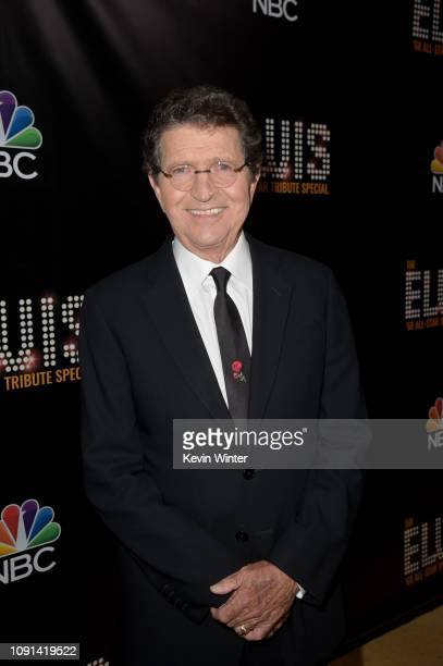 Mac Davis appears backstage during The Elvis '68 AllStar Tribute Special at Universal Studios on October 11 2018 in Universal City California