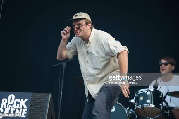Mac DeMarco performs during Rock en Seine at Domaine National de SaintCloud on August 27 2017 in Paris France