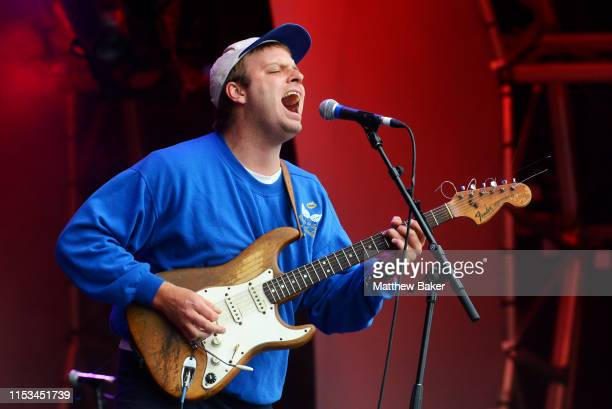 Mac DeMarco performs during the All Points East Festival at Victoria Park on June 02 2019 in London England