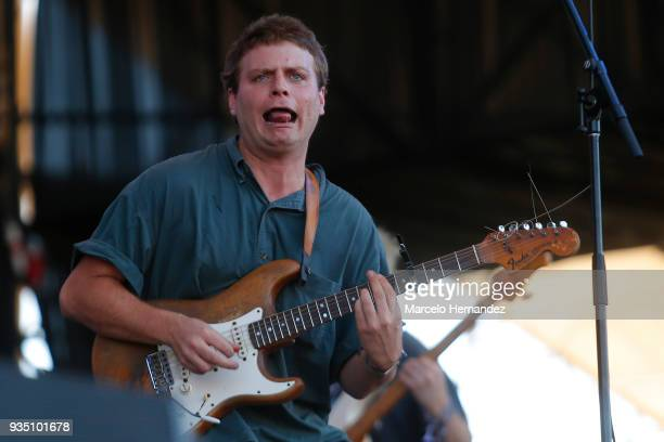 Mac Demarco performs during the third day of Lollapalooza Chile 2018 at Parque O'Higgins on March 18 2018 in Santiago Chile