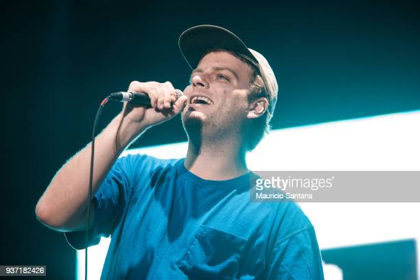 Mac DeMarco performs live on stage during the first day of Lollapalooza Brazil at Interlagos Racetrack on March 23 2018 in Sao Paulo Brazil