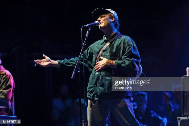 Mac DeMarco performs on day 1 of End of the Road Festival at Larmer Tree Gardens on September 1 2017 in Farnham Dorset
