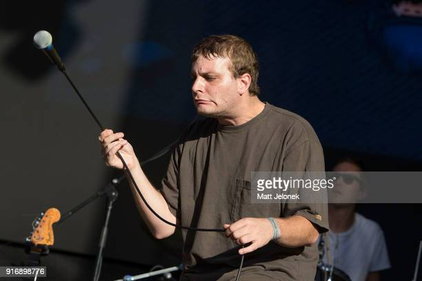 Mac DeMarco performs on stage at St Jerome's Laneway Festival on February 11 2018 in Fremantle Australia