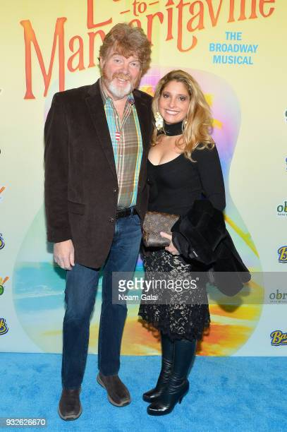 Mac McAnally attends the Broadway premiere of Escape to Margaritaville the new musical featuring songs by Jimmy Buffett at the Marquis Theatre on...