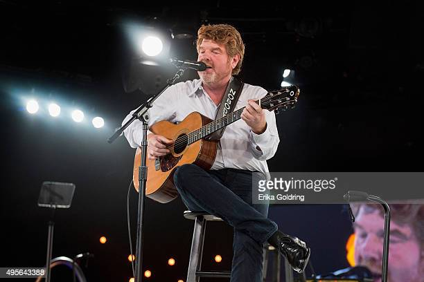 Mac McAnally performs during the Mac Davis tribute at the 63rd annual BMI Country awards on November 3 2015 in Nashville Tennessee
