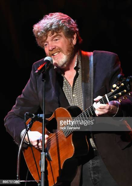Mac McAnally performs onstage at Country Music Hall of Fame and Museum on December 19 2017 in Nashville Tennessee