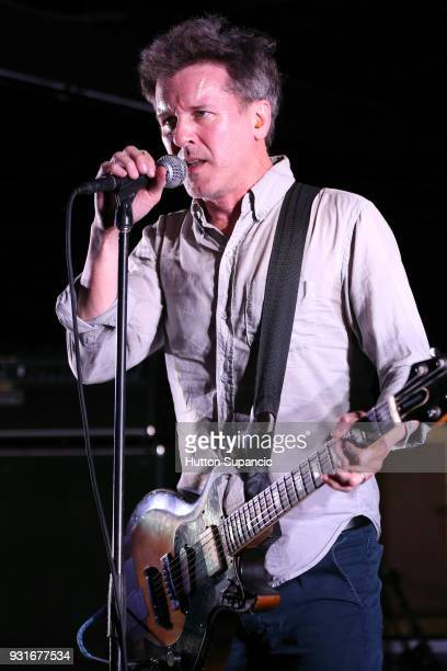 Mac McCaughan of Superchunk performs onstage at the Music Opening Party during SXSW at The Main on March 13 2018 in Austin Texas