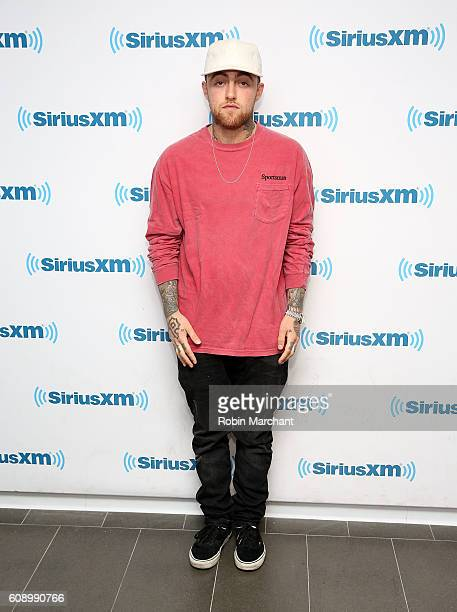 Mac MIller visits at SiriusXM Studio on September 20 2016 in New York City