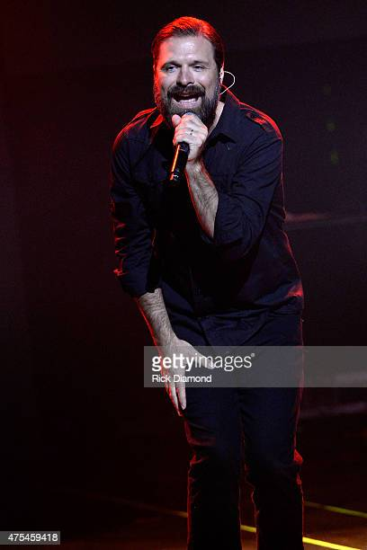 Mac Powell of Third Day performs onstage at the 3rd Annual KLOVE Fan Awards at the Grand Ole Opry House on May 31 2015 in Nashville Tennessee
