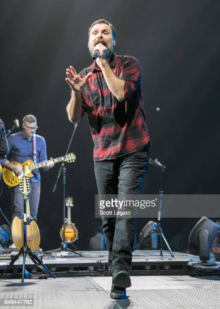Mac Powell performs at The Palace of Auburn Hills on March 5 2017 in Auburn Hills Michigan