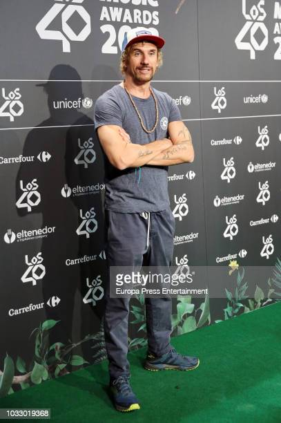 Macaco attends the 40 Principales Awards nominated dinner at Florida Retiro on September 13 2018 in Madrid Spain